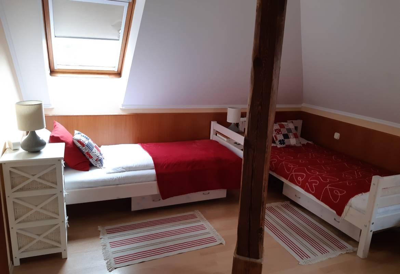 Mansarde Doppelzimmer